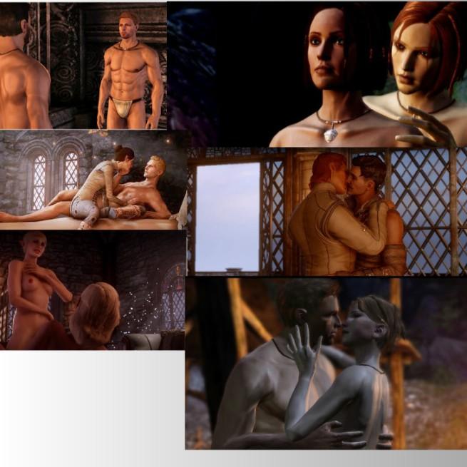 dragon age collage